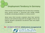 employment tendency in germany 4