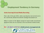 employment tendency in germany 5