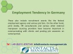 employment tendency in germany 7