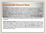 inconel 600 round bars