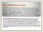 monel 400 round bar