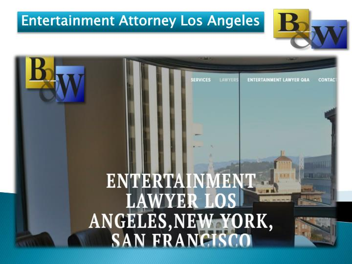 entertainment attorney los angeles n.