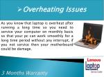overheating issues