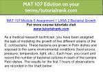mat 107 edution on your terms tutorialrank com 2