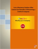 list of business entities who cannot get benefits