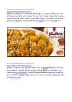 restaurant in udaipur bawarchi restaurant http