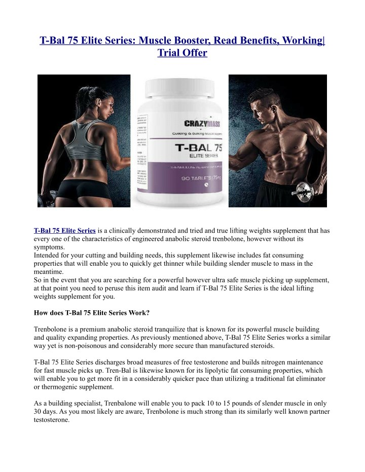 t bal 75 elite series muscle booster read n.