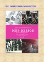 mep engineering design services