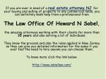 if you are ever in need of a real estate attorney