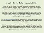 step 2 set the buying process in motion when