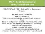 mgmt 570edution on your terms tutorialrank com 20