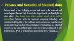 privacy and security of medical data