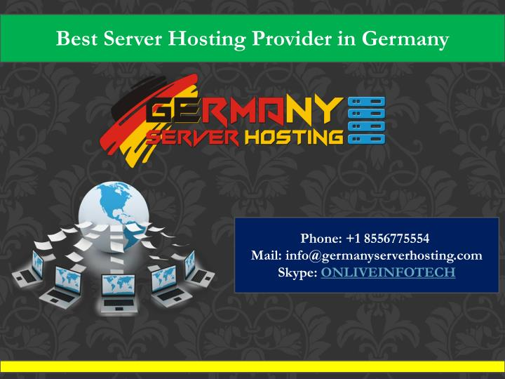 best server hosting provider in germany n.