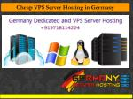 cheap vps server hosting in germany