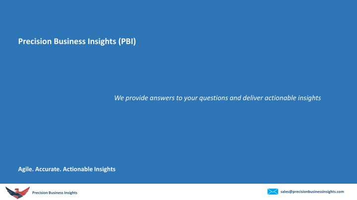 precision business insights pbi n.