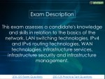 exam description