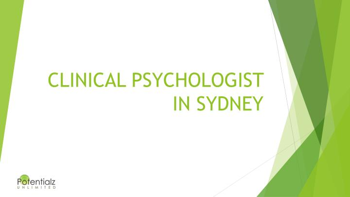 clinical psychologist in sydney n.