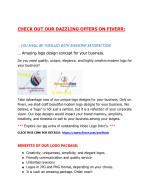 check out our dazzling offers on fiverr