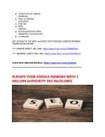 content of your website handbook piece