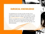 surgical knowledge