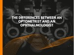 the differences between an optometrist
