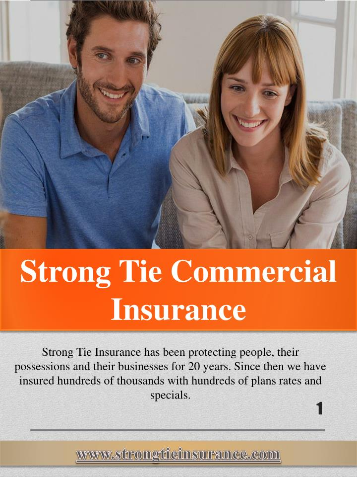 strong tie commercial insurance n.