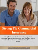 strong tie commercial insurance