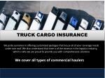 truck cargo insurance 1