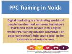 ppc training in noida