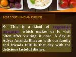 best south indian cuisine 2