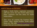 north indian restaurant