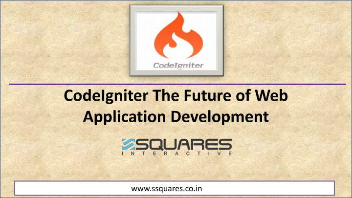 codeigniter the future of web application n.
