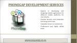 phonegap development services
