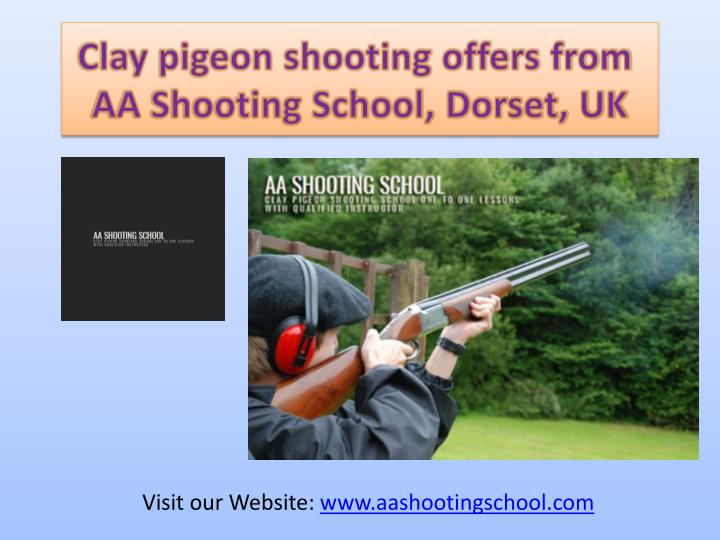 clay pigeon shooting offers from aa shooting n.