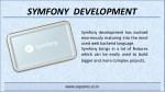 symfony development 1