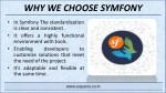 why we choose symfony