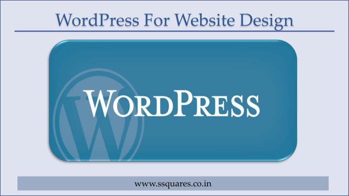 wordpress for website design n.