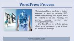 wordpress process