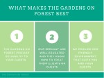 what makes the gardens on forest best