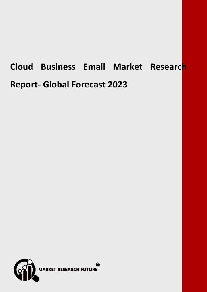 cloud business email market research report n.