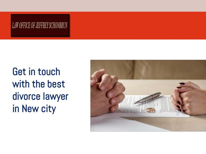 get in touch with the best divorce lawyer n.