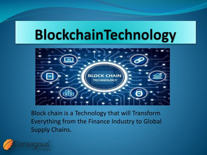 blockchaintechnology n.