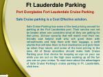 ft lauderdale parking 4