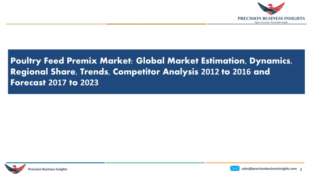 PPT - Global Poultry Feed Premix Market PowerPoint Presentation - ID