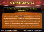 how satta king website more useful than others