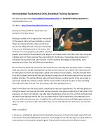 best basketball fundamental drills basketball