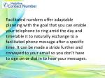 facilitated numbers offer adaptable planning with