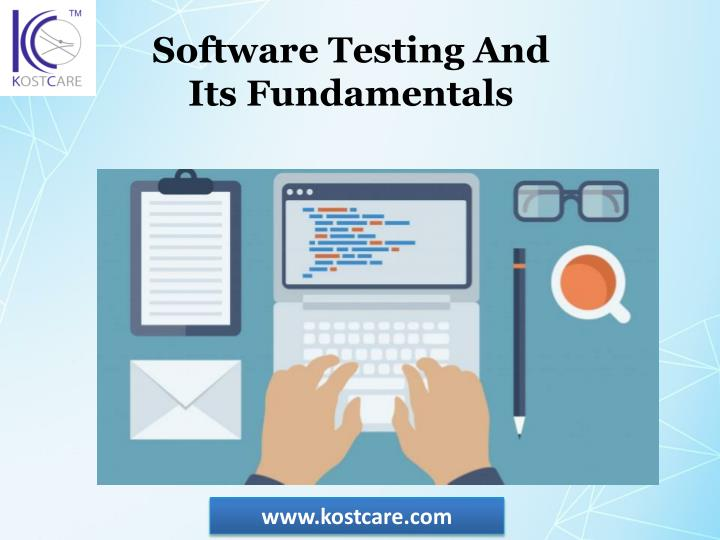 software testing and its fundamentals n.