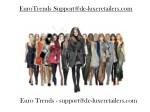 eurotrends support@de luxeretailers com