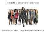 luxurystyle luxurystyle online com